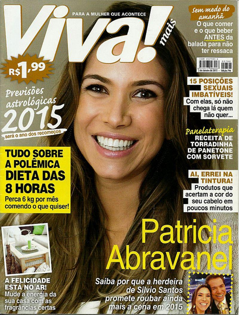 Saiba Por Que a Herdeira Patricia Abravanel Promete Roubar a Cena,  Revista Viva Mais nº 796