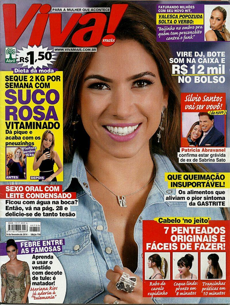 Que Mamae Poderosa e Patricia Abravanel,  Revista Viva Mais nº 750