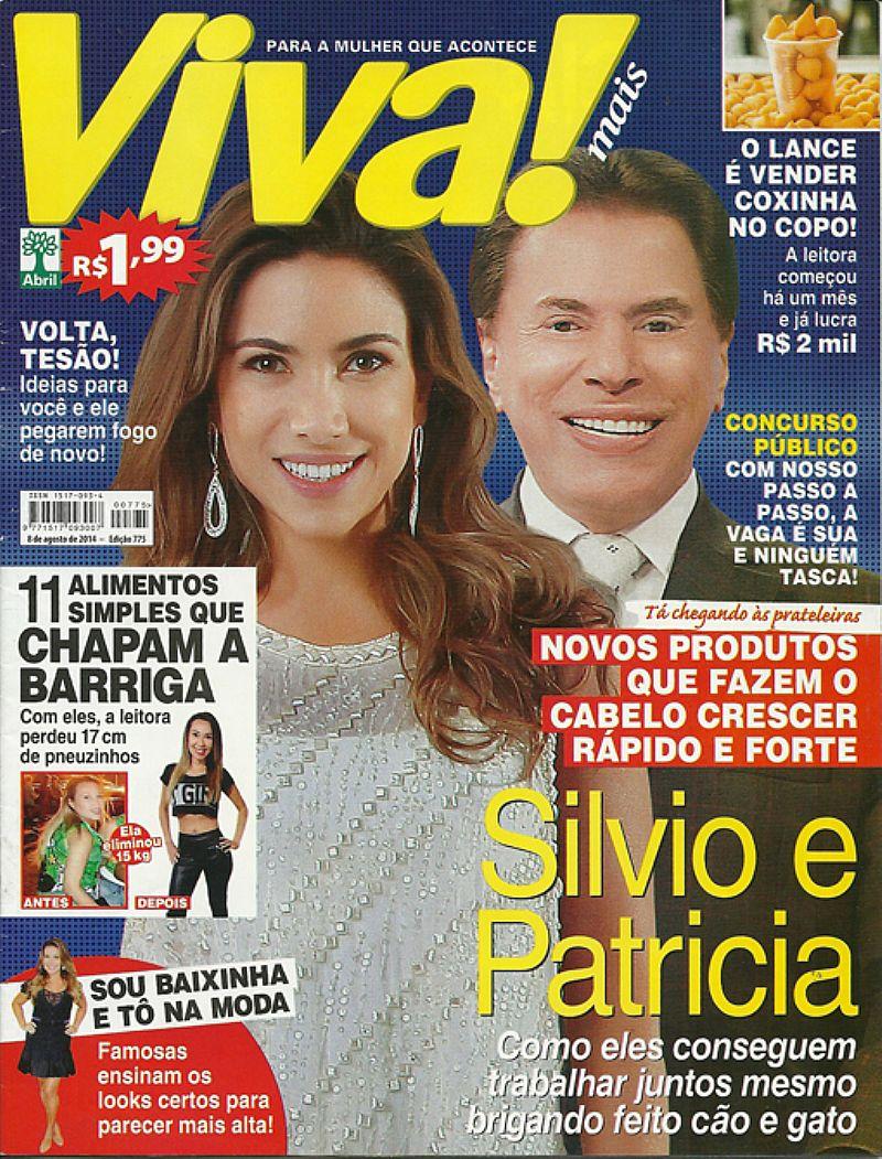 Patricia Abravanel e Silvio Santos,  Como Eles Conseguem Trabalhar Juntos,  Revista Viva Mais nº 775