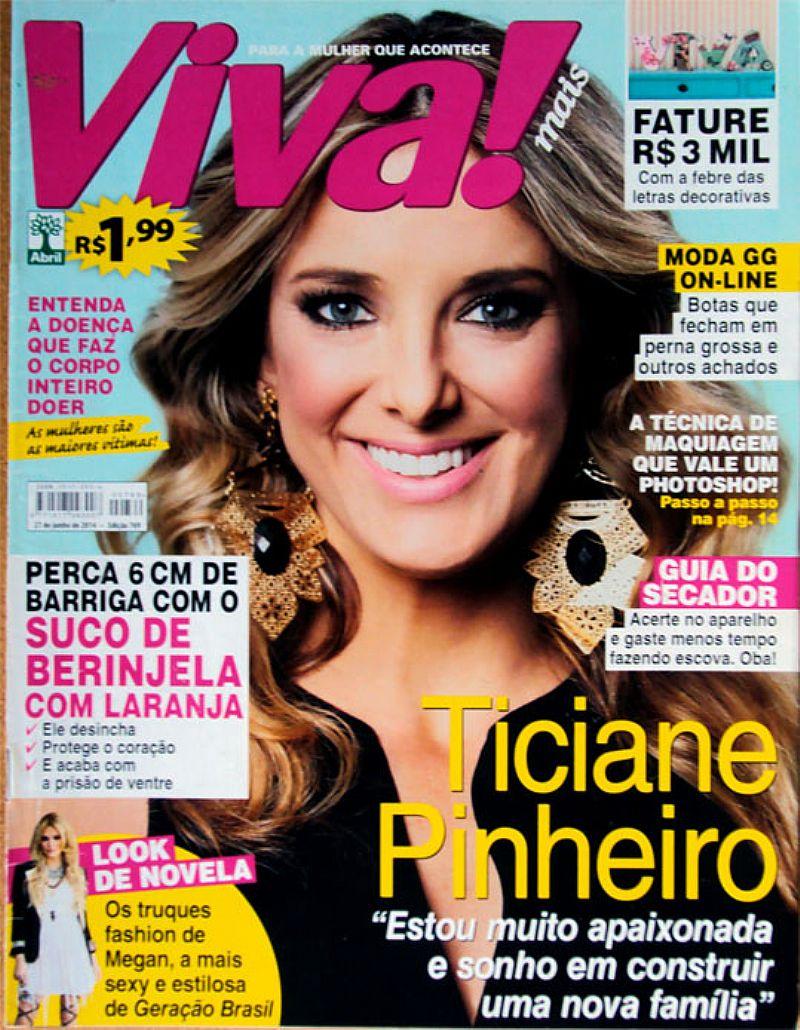 Estou Muito Apaixonada,  Ticiane Pinheiro Sonha Com Nova Familia,  Revista V
