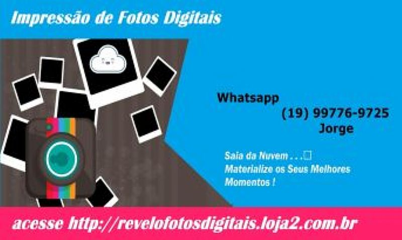 Revelacao de fotos digitais