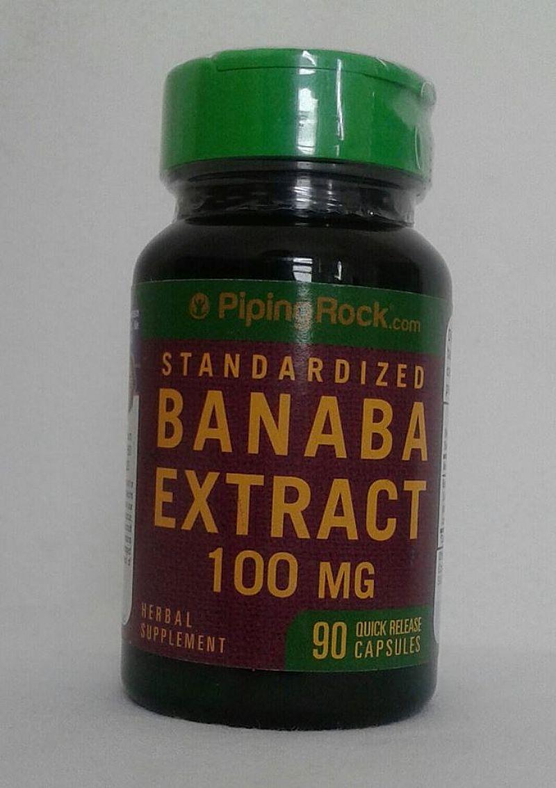 Banaba 100mg 90 caps poderoso contra diabete (produto importado usa)