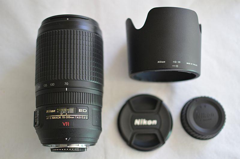 Vendo lente Nikon 70 300 mm otimo estado