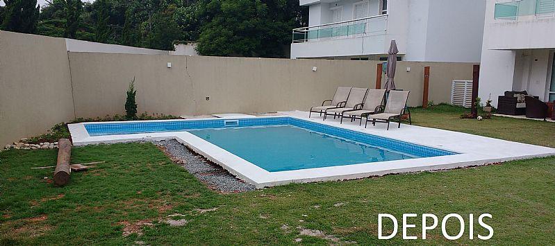 Venda e instalacao de piscina de vinil - bolsao