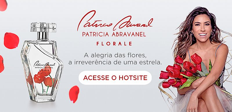 Colônia Desodorante Feminina Patricia Abravanel Florale,  100ml