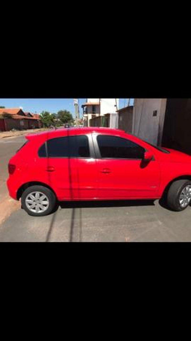 Volkswagen gol G5 - vermelho - ano 2012