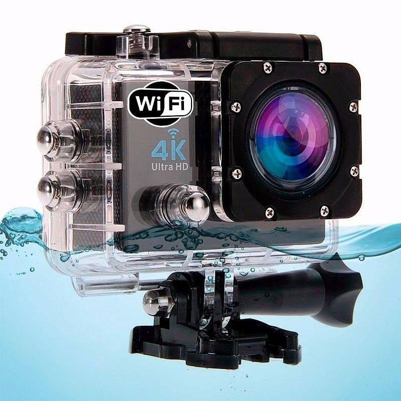 Camera Para Capacete 4k Ultra Hd Moto E Bike