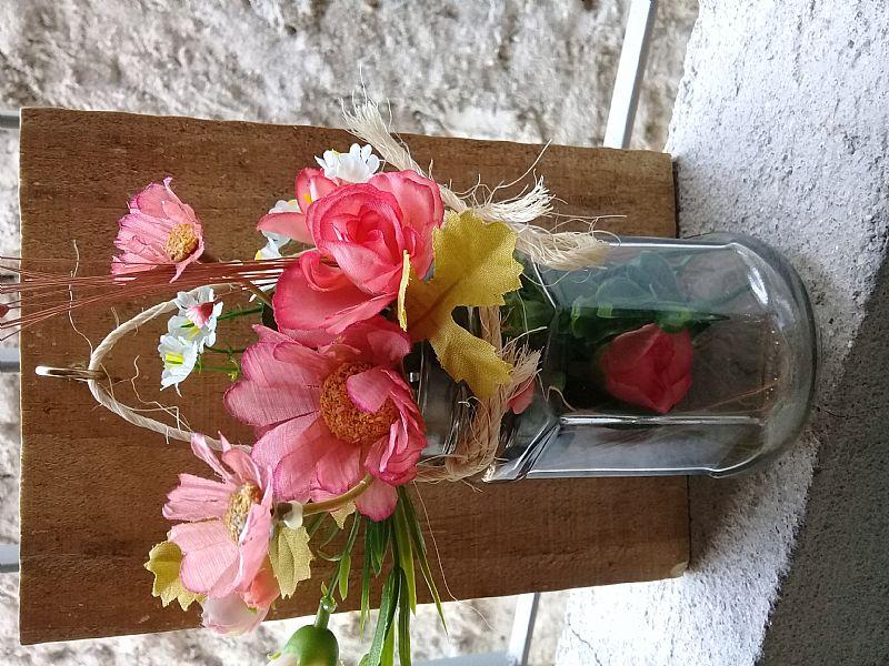 Quadro 3d floral