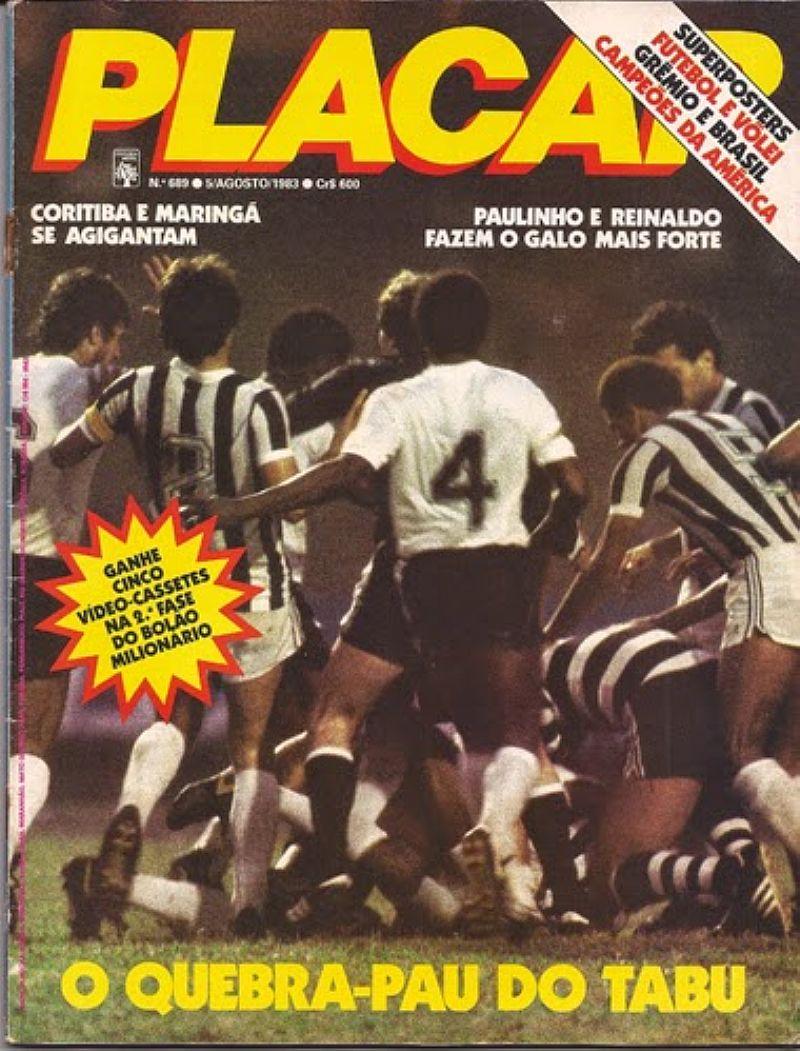 Revista placar anos 80 e 90