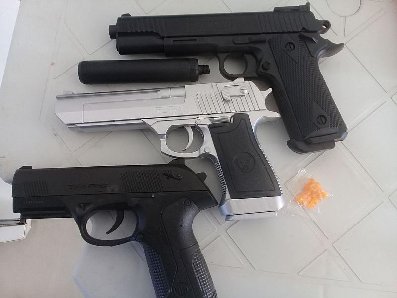 Replica pistolas de bolinhas