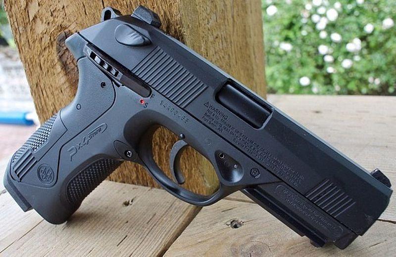 9519f439414 Pistola de pressão co2 umarex beretta px4 storm