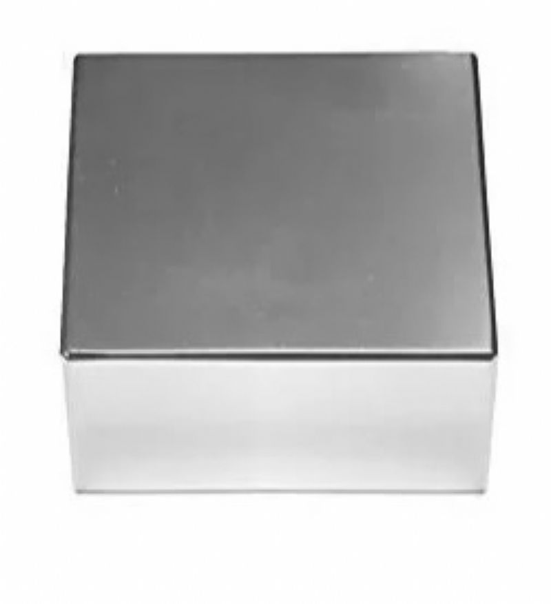 Bloco de neodimio 50,  8x50,  8x25,  4mm 130 kgf