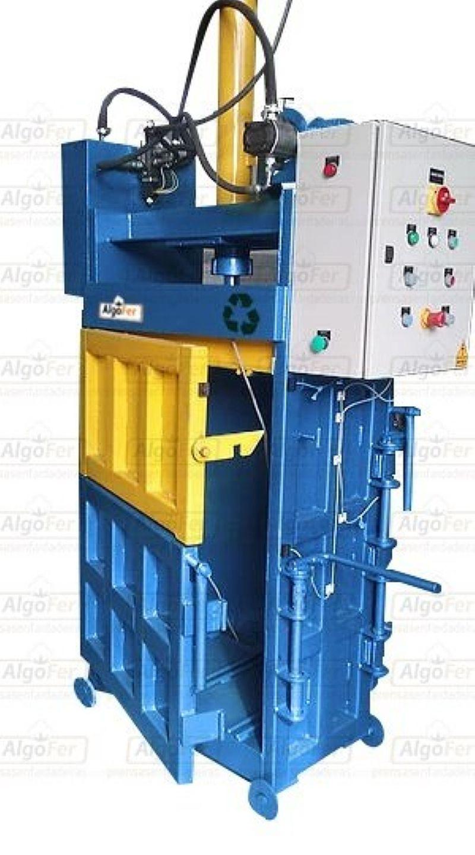 Algofer - prensas enfardadeiras - prensa grande af 350 - oportunidade de faturamento - para reciclagem (plastico,  papelao etc)