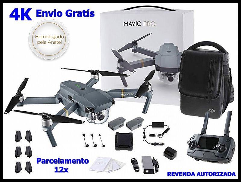 Drone dji mavic pro combo fly more 12, 35 megapixels cmoscinza envio hoje
