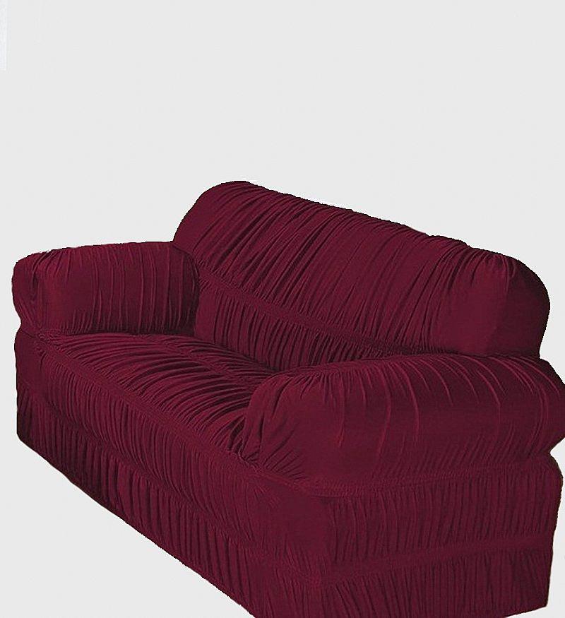 Capa de sofa com duas pecas