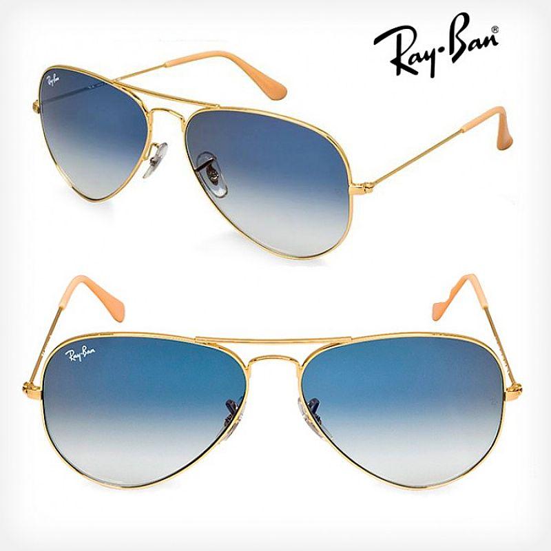 Oculos ray ban aviador uva uvb 100% lente polarizada pronta entrega d3943adb00