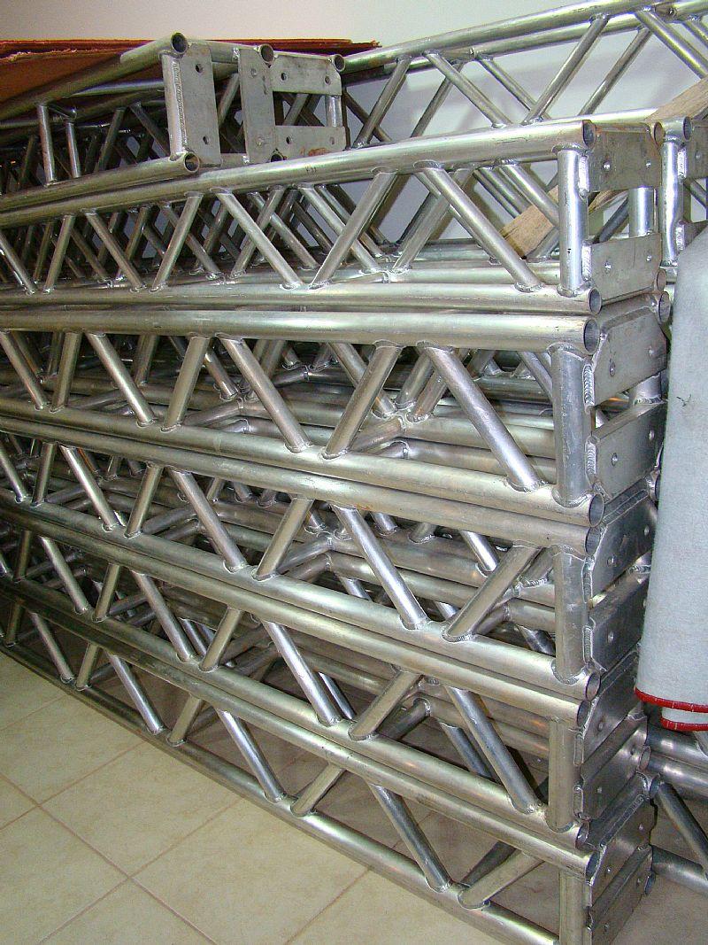 Trelicas q30 em aluminio preco por metro sem nf de fabrica