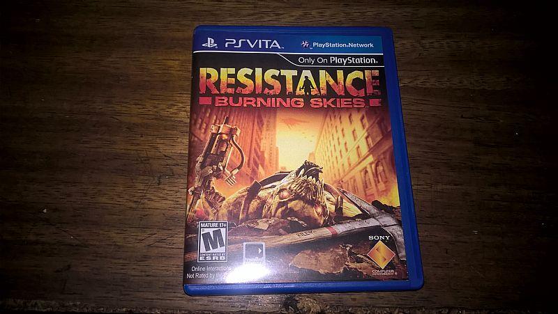 Resistence - burning skies