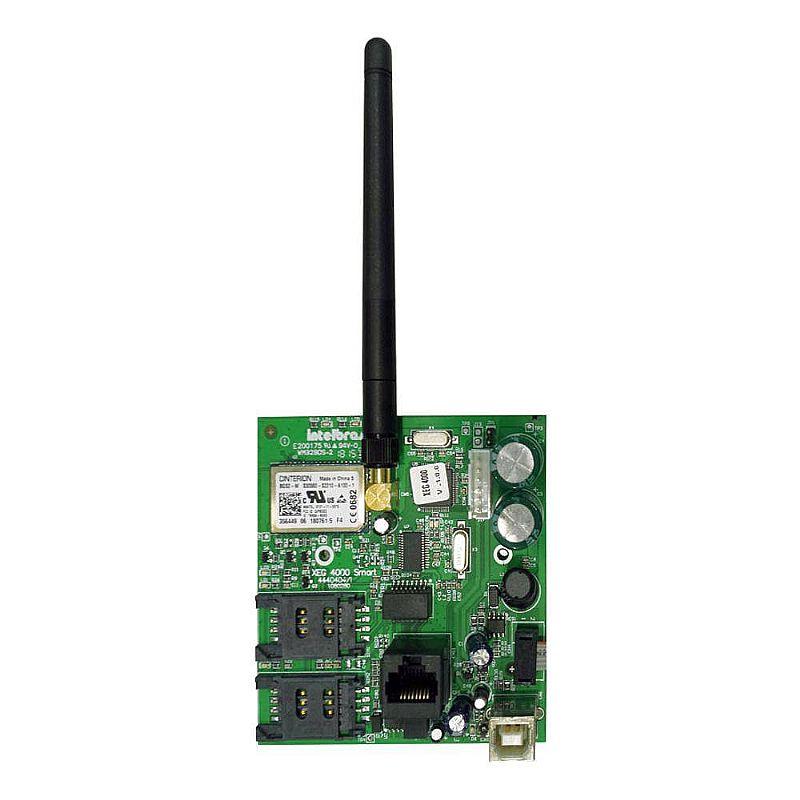 Comunicador ethernet gprs intelbras xeg 4000 smart