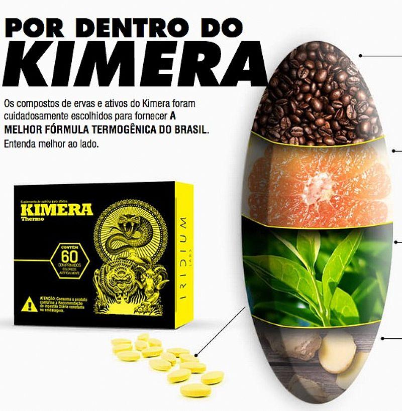 Kimera: o melhor termogenico do mercado