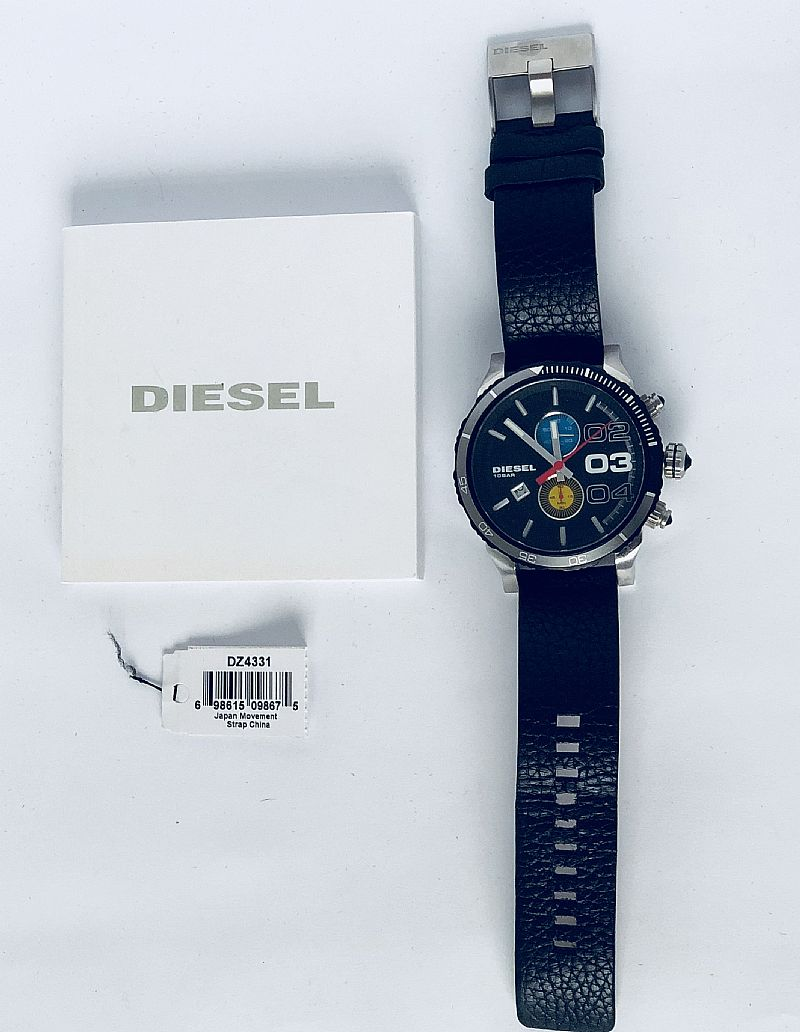 Relogio diesel esportivo original dz 4331