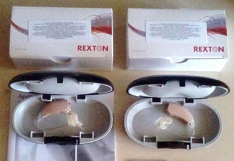 Aparelhos auditivos rexton joy m 10 bg - direito e esquerdo