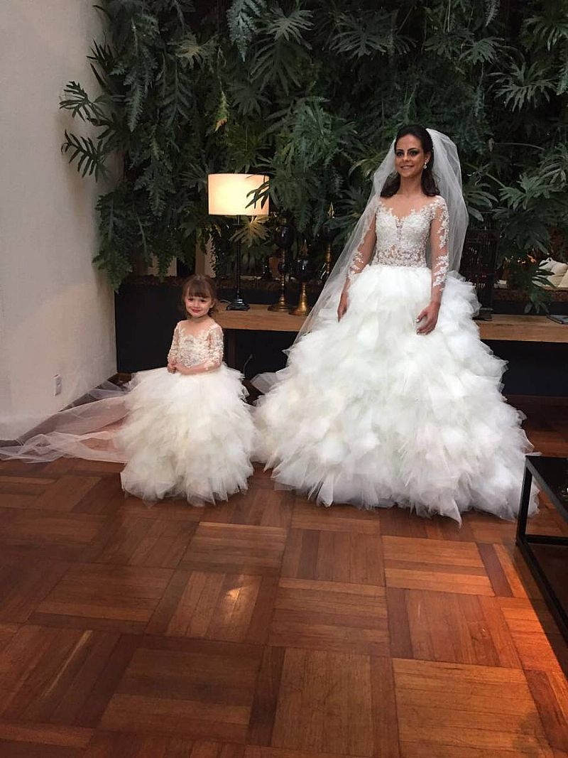 Famoso vestido de noiva