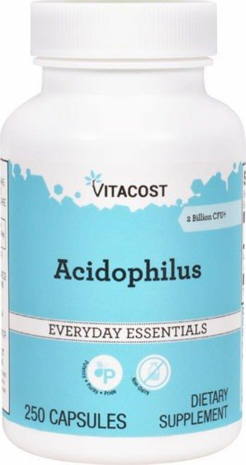 Acidophilus - 2 bilhoes de cfu - 250 capsulas