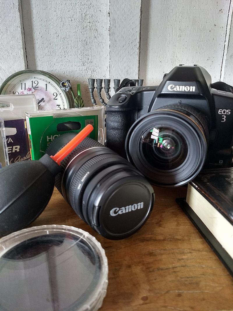 Camera analogica canon