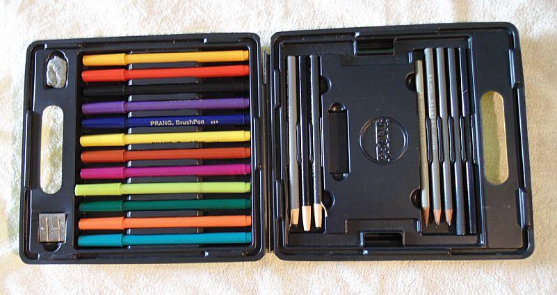 Conjunto de lapis e canetas prang.- 275 -