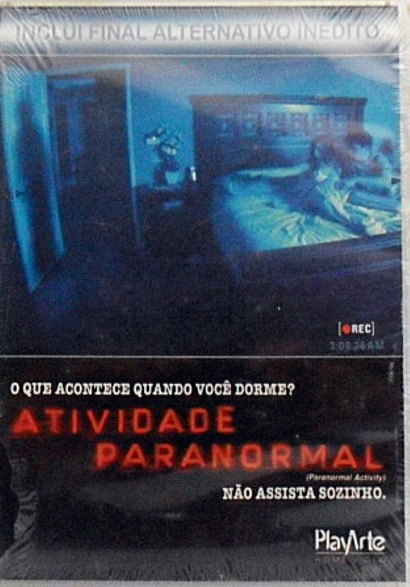 Dvd ativdade paranormal