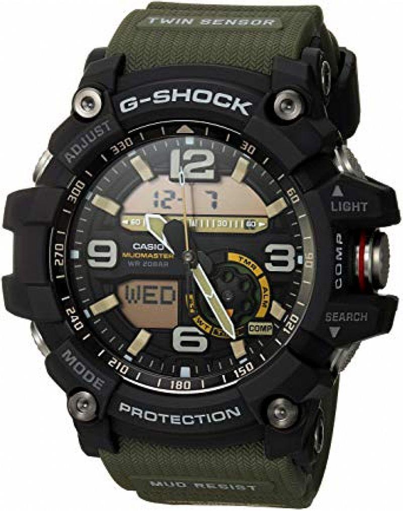Relógio g-shock mud resist - gwg - 1000gb-1a bit.ly/2mipyjw