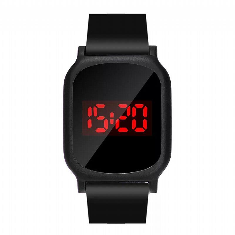 Relógio Tempo zero 501 2019 new unisex das mulheres dos homens de moda de luxo led digital data sports relogio de pulso de quartzo diaria desgaste frete gratis