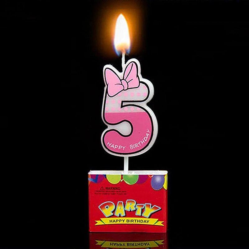 Vela de aniversario numero 5 vela rato dos desenhos animados decoracao de velas do bolo de aniversario como 0 9 mostrar o numero do queque decoracao do partido e presente de aniversario