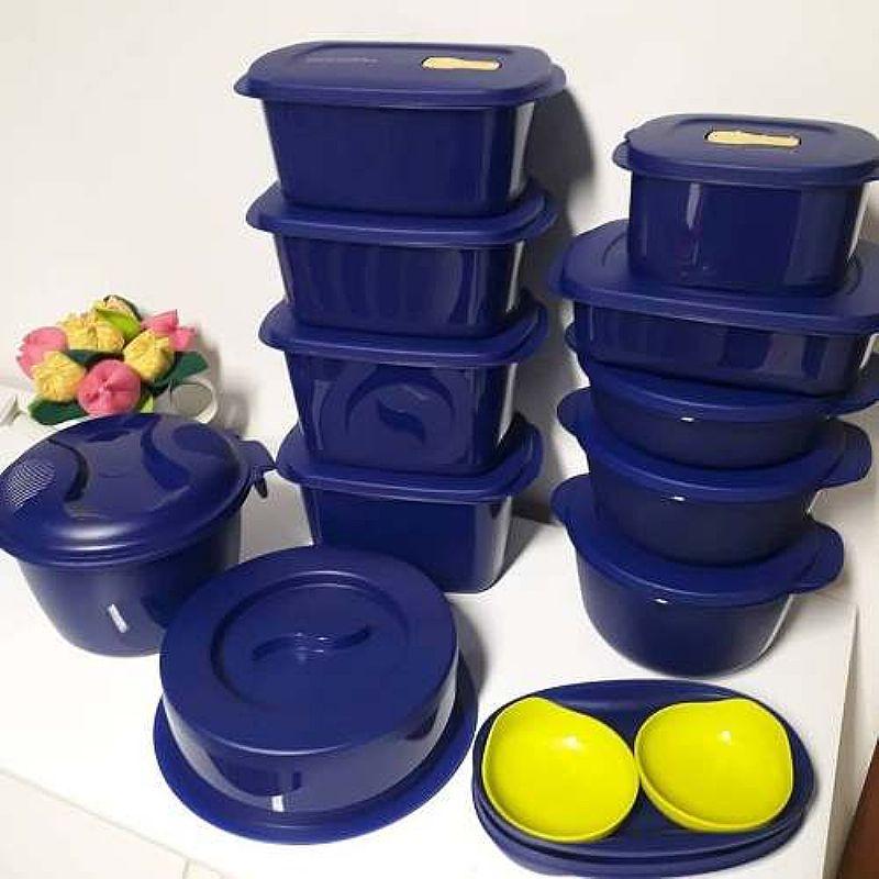Bea microondas  tupperware 13 pecas