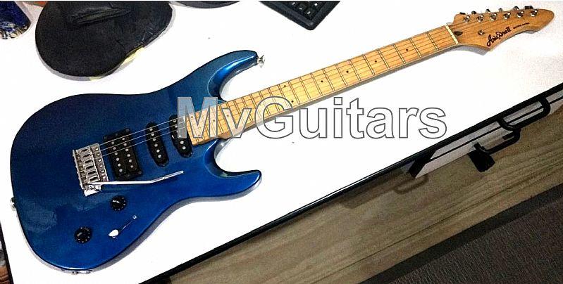 Guitarra aria pro ii magna series - made in korea - linda