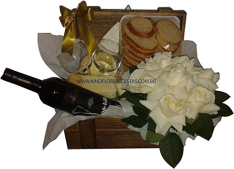 Cesta de queijos e vinho dia das mulheres no itaquera (11)2361 588