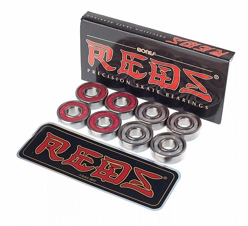 Rolamento redbones reds skate ou longboard original lacrado