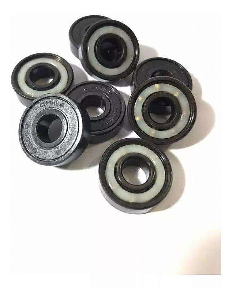 Rolamentos para skate similar ao red bones black edition