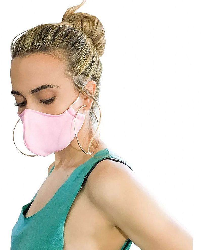 Mascara protecao confortavel lavavel reutilizavel com forro