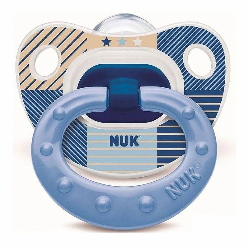 Chupeta Azul Nuk classic 6  azul nuk