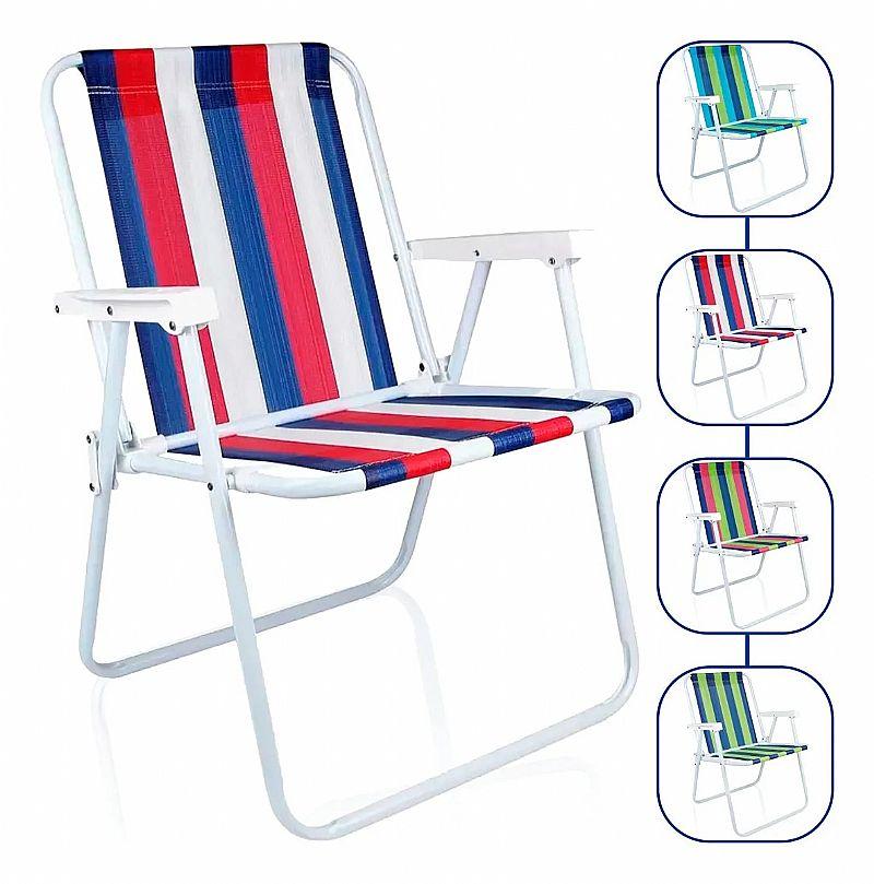 Cadeira praia piscina varanda alta aco dobravel mor promocao marca mor modelo dobravel