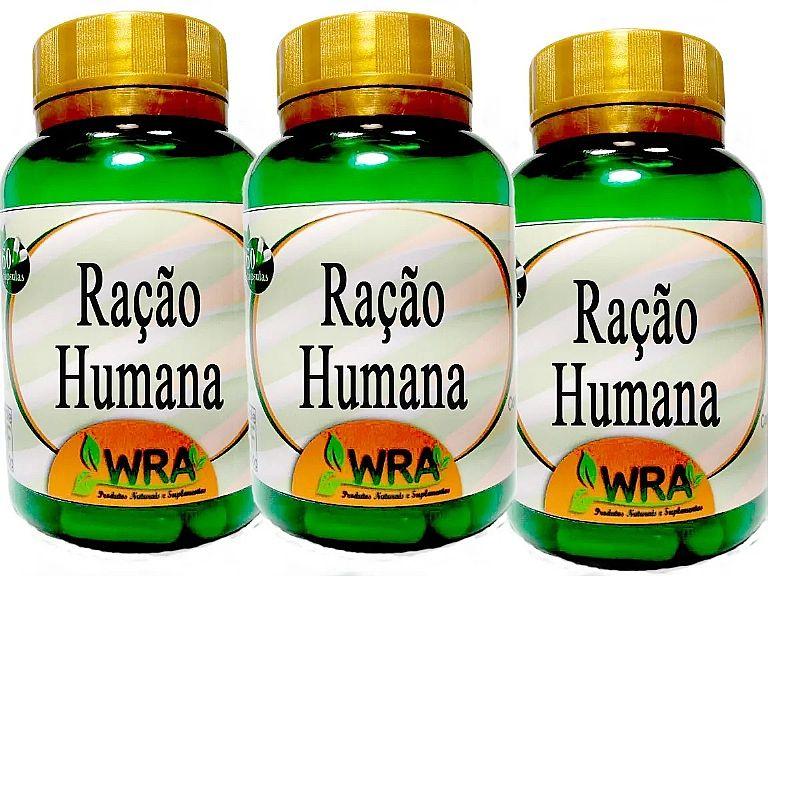 Racao humana 180 capsulas kit 3 potes auxilia no colesterol marca erva e cia tipo de suplemento natural