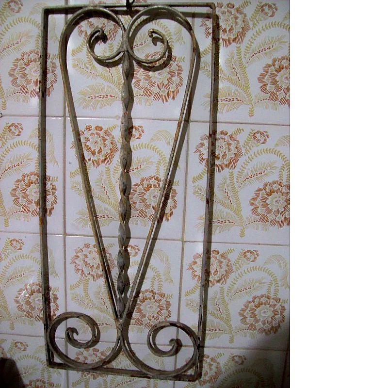 Grade de ferro de porta 21x48
