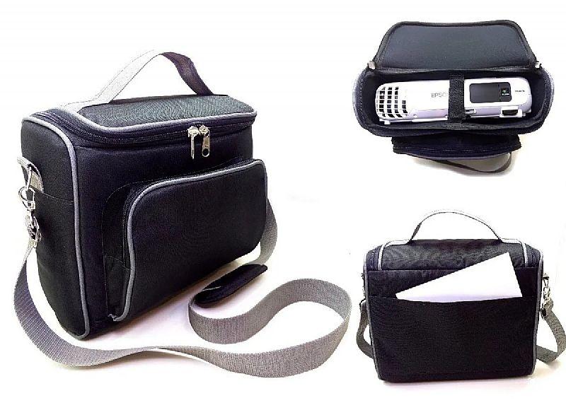 Bolsa reforcada para projetor epson- a melhor do mercado! marca projetor e cia modelo soft-case