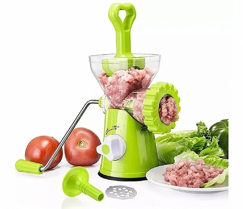 Moedor carne completo linguica alimentos manual portatil   brinde       marca maxchef     modelo moedor multiuso