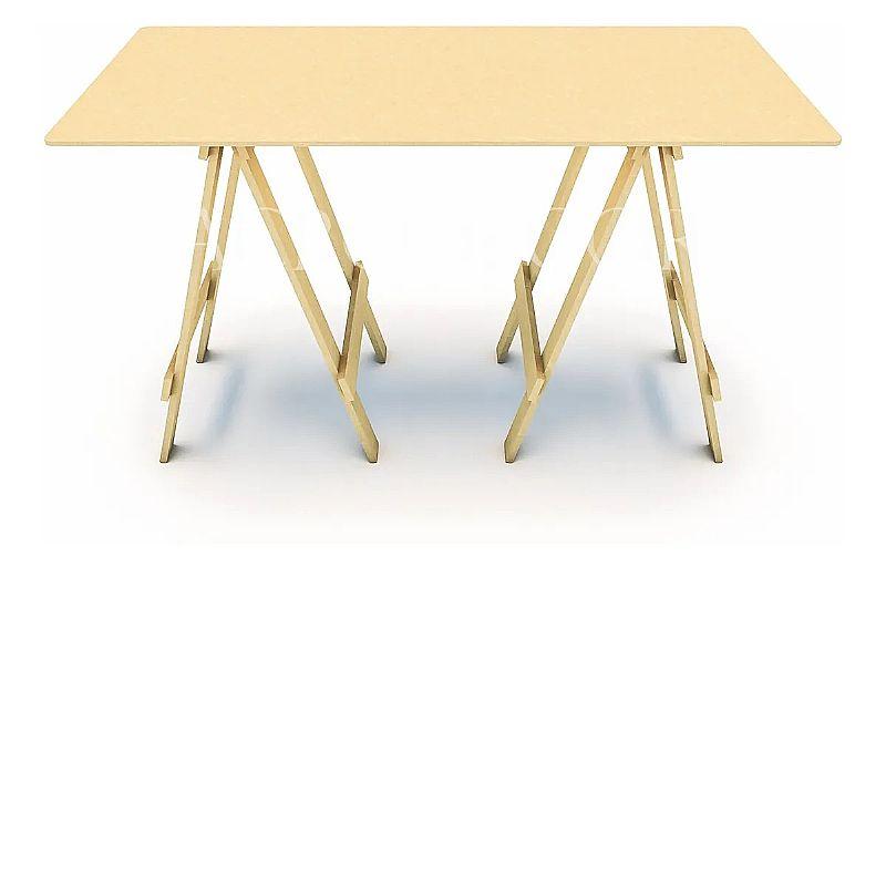 Mesa cavalete 1.30 x 0.60m decoracao festa mdf  marca acrodecor formato de venda unidade
