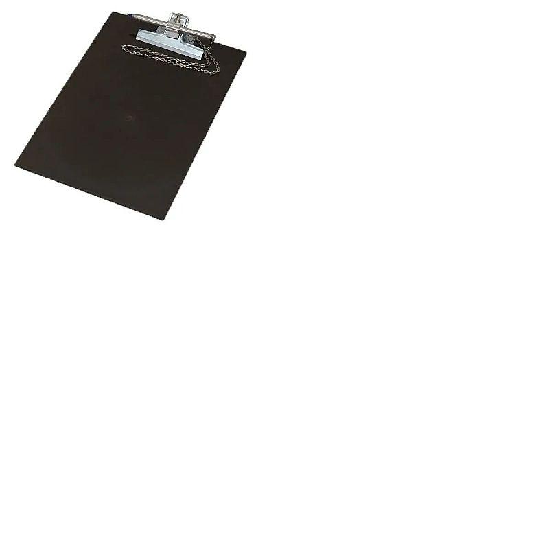 Prancheta oficio com caneta suporte acrilico prendedor metal  marca xpto modelo acrilico