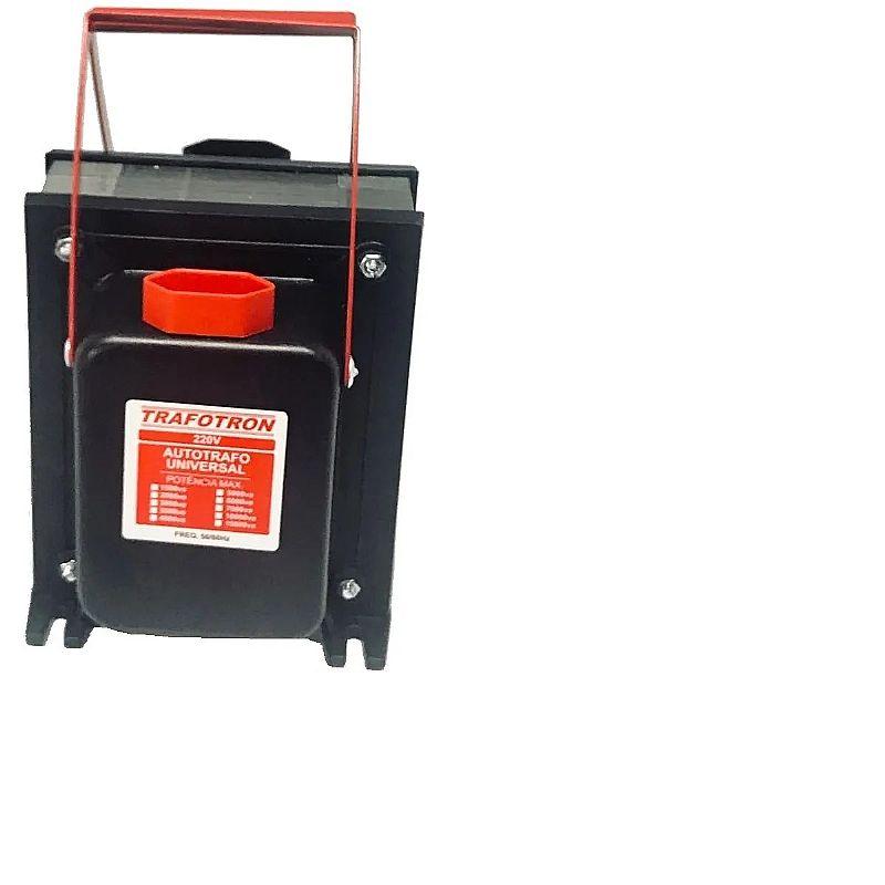 Transformador 5000va com alca 110 - 220 e 220 - 110 12000btu marca trafotron modelo 5000va com alca