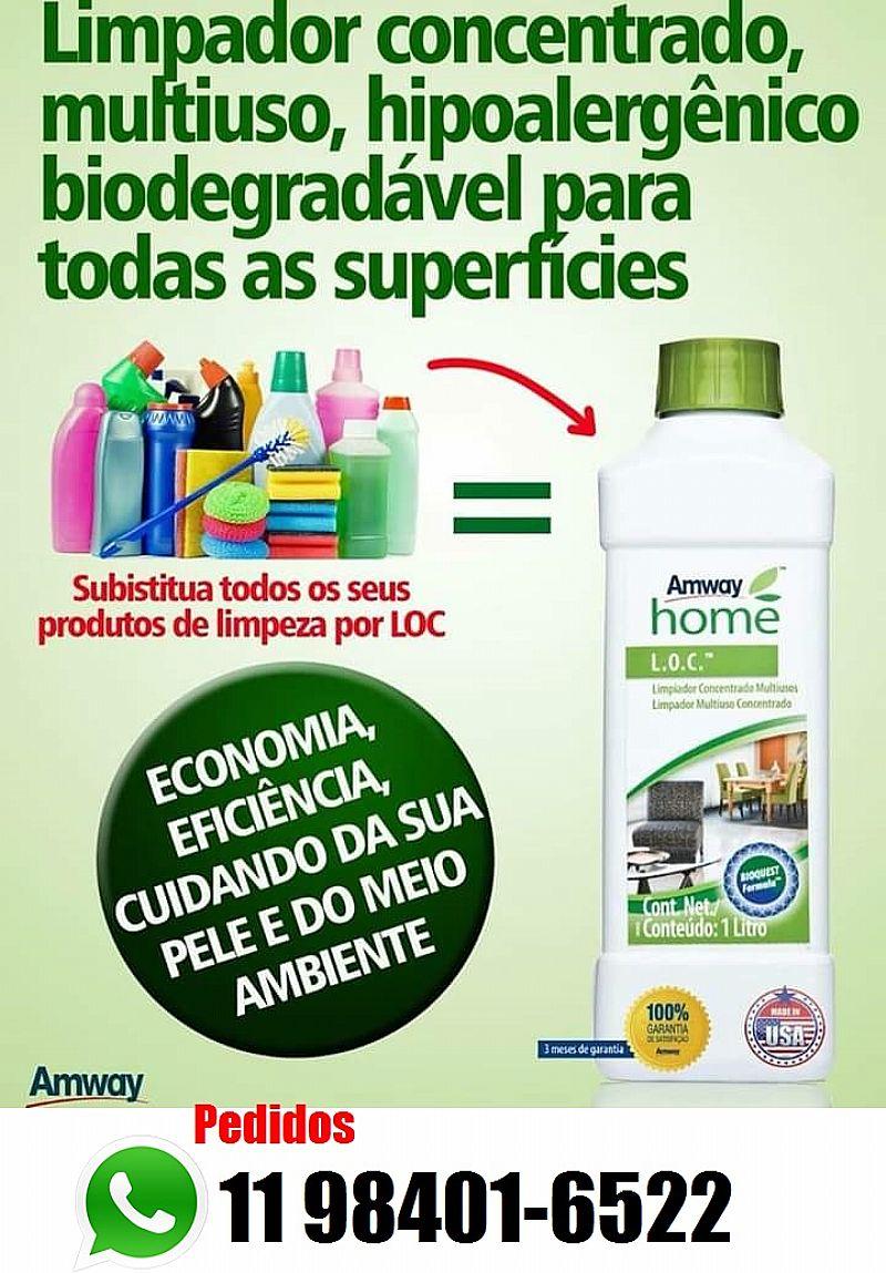 Limpador concentrado multiuso,  hipoalergenico biodegradavel, limpeza eficiente que respeita o meio ambiente